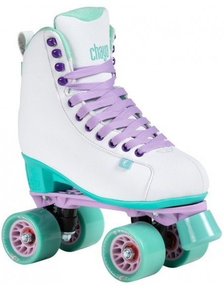 chaya lifestyle skates melrose | white-teal