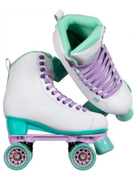 Venta chaya lifestyle skates melrose | white-teal