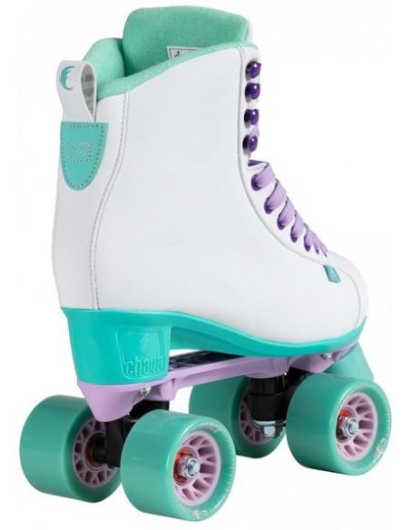 Oferta chaya lifestyle skates melrose | white-teal