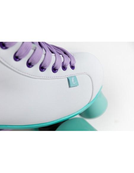 Opinión de chaya lifestyle skates melrose | white-teal