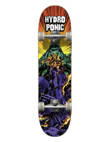 "hydroponic monster godzilla 8"" - skate completo"