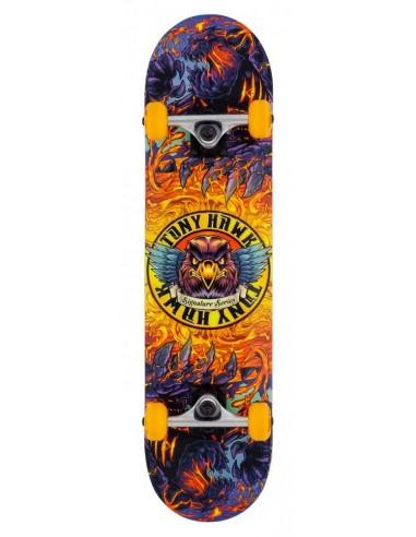 "tony hawk ss 360 lava 7.75"" multi | complete skate"
