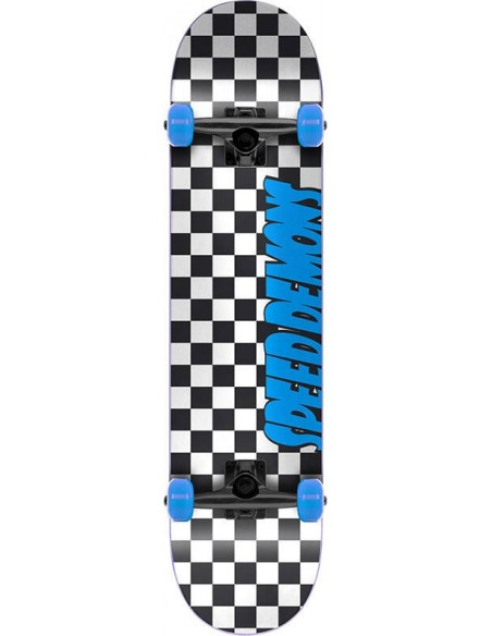 "speed demons checkers 7.25"" checkers blue 