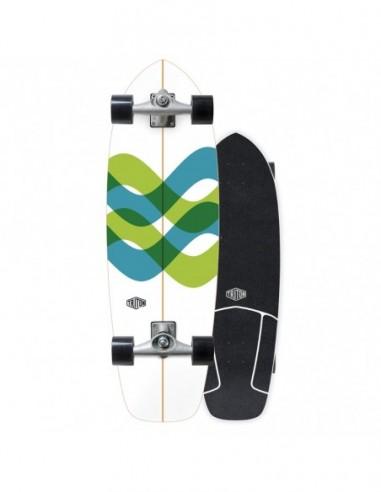 "2021 | carver triton 31"" signal cx wide | surf skate"