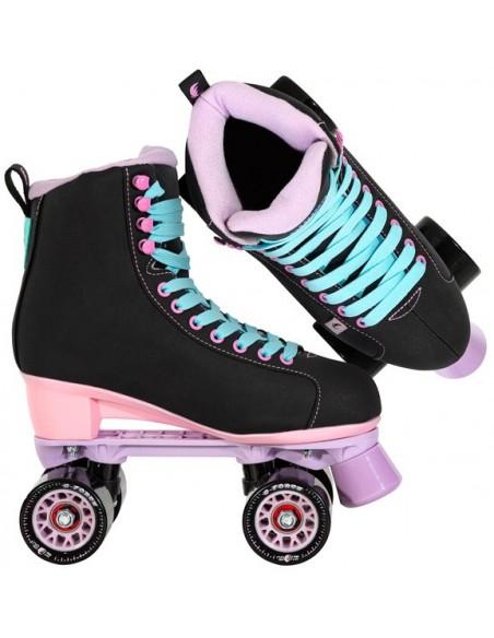 Producto chaya skates lifestyle melrose | black-pink