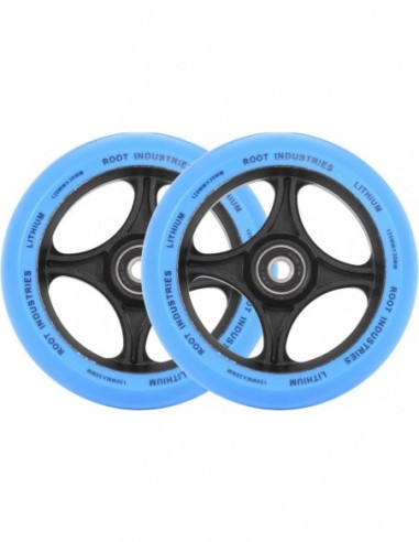 root industries wheel lithium 120mm - blue