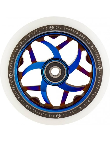 striker wheel essence v3 110 | white-blue chrome