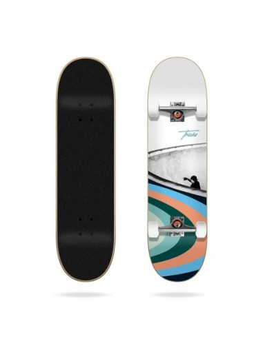 "tricks bowl 7.87""x 31.60""- skateboard complete"