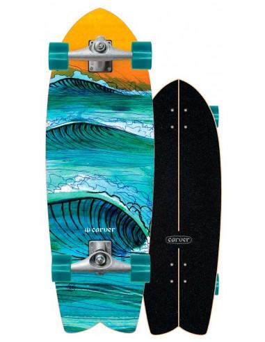 "2021   carver swallow 29.5""   surf skate"