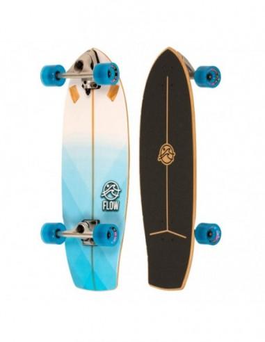 "flow geometric 29"" complete surf skate"
