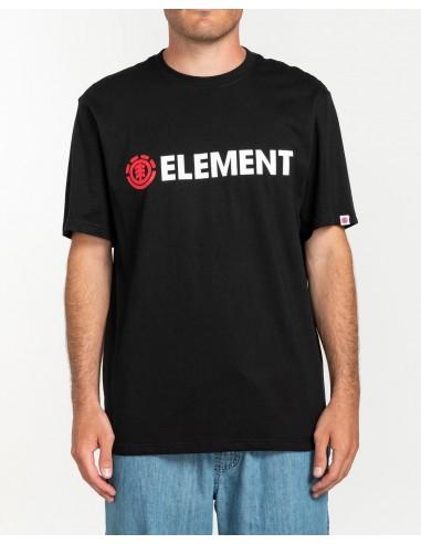 element t-shirt blazin ss flint black