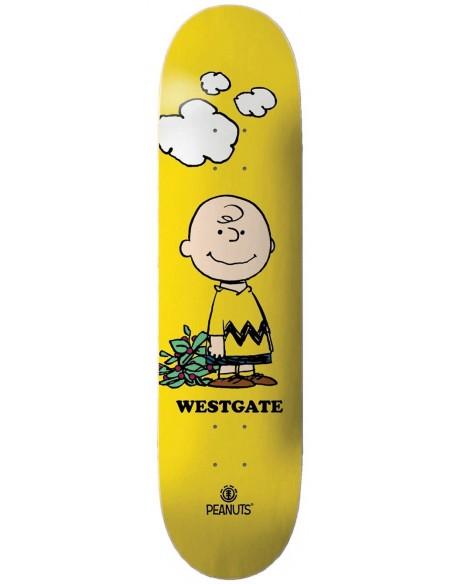 "Comprar element skate deck 8"" peanuts charlie brown x wes"