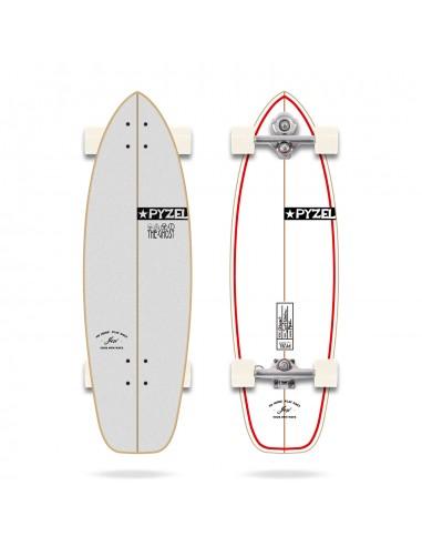 "yow ghost 33.5"" pyzel shadow x yow - surf skate"
