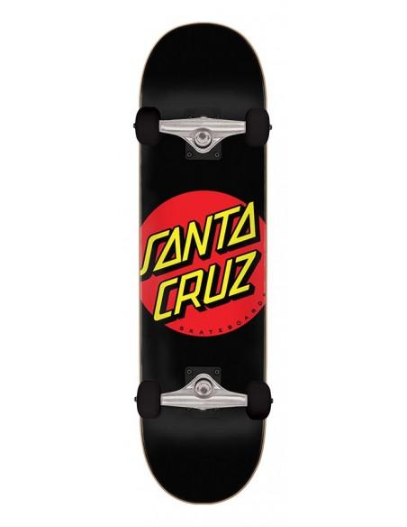 "santa cruz classic dot full 8"" x 31.25"" negro"