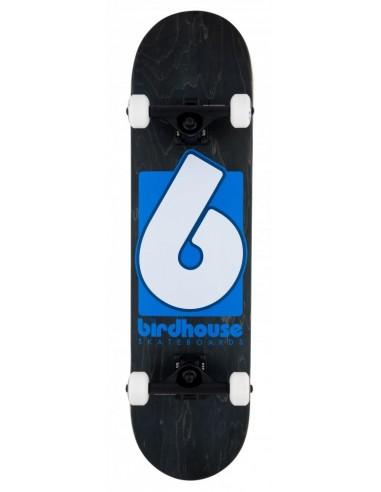 "birdhouse complete stage 3 b logo 8"" black/blue"