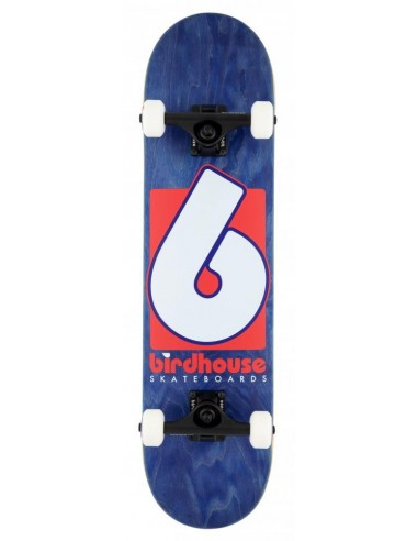 """birdhouse complete stage 3 b logo 7.75"""" navy/red"""