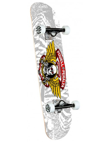 """powell peralta winged ripper one off silver birch 8"""" x 31.45"""" complete skate"""