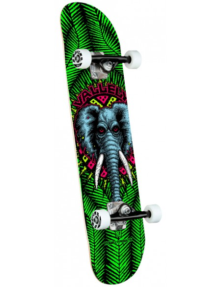 """powell peralta vallely elephant one off green birch 8"""" x 31.45"""" complete skate"""