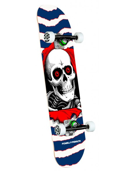"""powell peralta ripper one off navy birch 7.75"""" x 31.08"""" complete skate"""