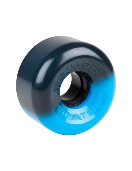 Comprar sims quad wheels street snakes 62mm 78a - azul/negro - 4pack