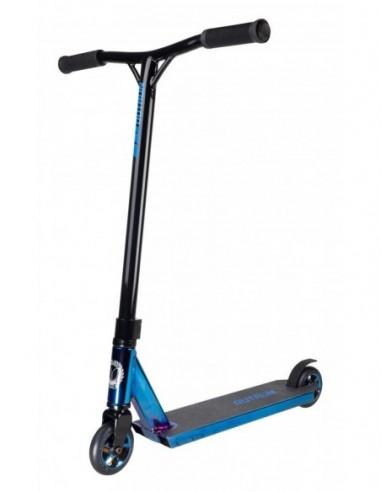 blazer pro outrun 2 fx blue chrome complete scooter