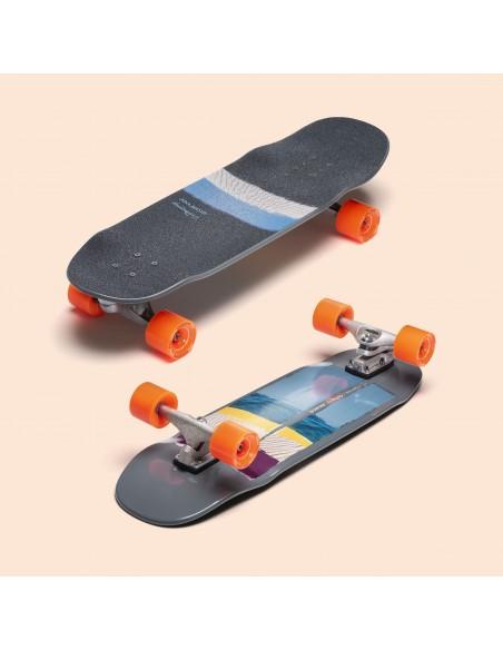 "Características loaded x carver bolsa 31""- surf skate"