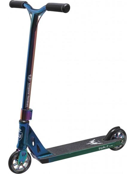 longway summit mini 2k19 full neochrome - freestyle scooter