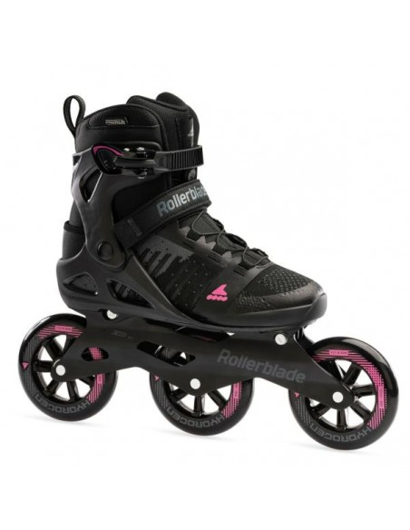 rollerblade macroblade w 110 3wd black-orchid
