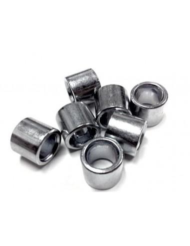 8mm bearing spacers steel- sushi - 4 pack