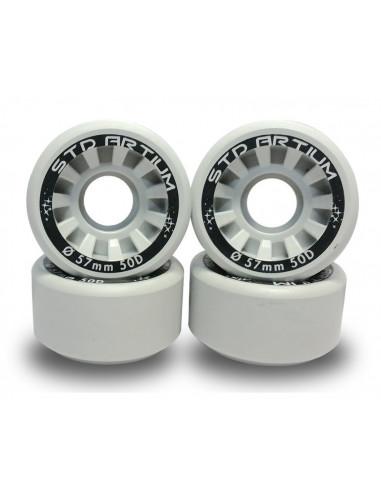 ruedas std artium hd50 d57 gris [8 pack]