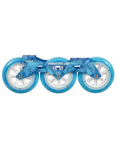 powerslide megacruiser frame set blue | 3x125mm