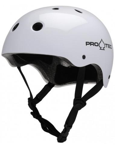 pro-tec helmet classic white