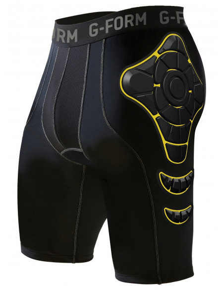 Comprar pantalon g-form pro-g shorts negro-amarillo