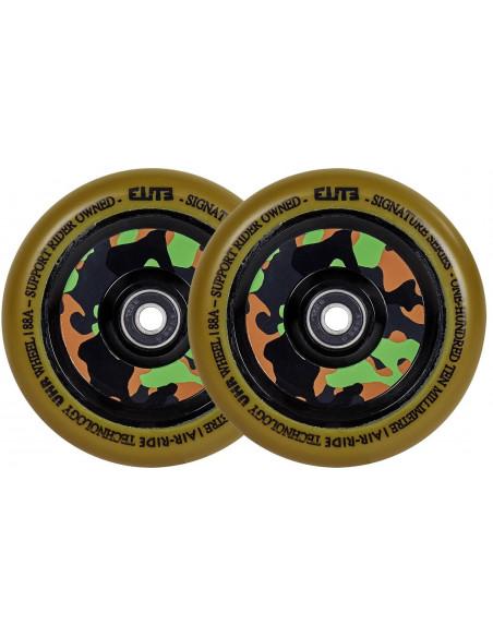 elite air ride camo 125 gum wheel