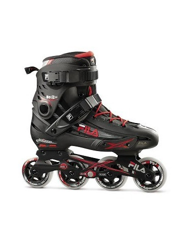 fila skates houdini | black-red